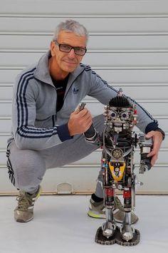 Ferrerini mechanical artist