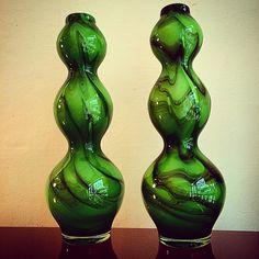 1960'lar Cift Vazo. 60's pair vase