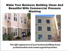 The right appearance of your business building shows professionalism and creates a good impression. If it is not maintained in a proper manner then the building will spoil and the company's image will be affected. That is why hiring a professional to handle the cleaning needs of your  business building is a good option.