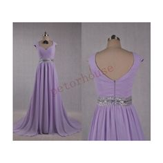 petorhouse Lavender Beaded Long Prom Dresses Bridesmaid Dresses Party... ($92) ❤ liked on Polyvore featuring dresses, black, women's clothing, prom dresses, black chiffon dress, long black dress, black bridesmaid dresses and lavender prom dresses