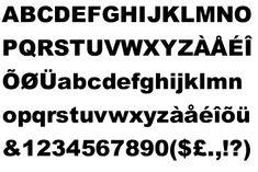 arial black (sans serif)