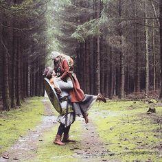 "713 gilla-markeringar, 25 kommentarer - Sophie Tarnow (@sveija_fenjadottir) på Instagram: ""We live where the streets have no name.  #forest #wherethestreetshavenoname #vikingworld #viking…"""