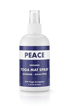PLH Yoga's Organic Yoga Mat Cleaning Spray, Peace - Laven... http://www.amazon.com/dp/B00X96KP48?&tag=khan033-20