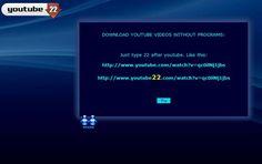 Youtube22, descargar vídeos de YouTube