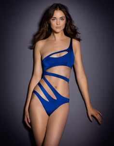 d4f9325ee5 Lexxi Swimsuit Agent provocateur 2014 collections Smoulder in the  asymmetric bandage style Lexxi in stand-