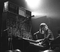Keith Emerson and Emerson, Lake & Palmer were the first to use the studio Moog synthesizer in live performance.