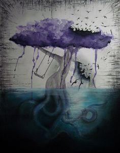 watercolor tattoos | Dream Tree by sarafilipa | Shadowness
