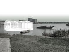 Pers // Floating Modular Pavilions for a watertown in Suzhou (China) - M1 - Tongji University CAUP_2015