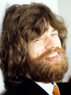 Mick Jagger with beard!