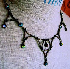 MEDIEVAL COLLAR NECKLACE in assorted colors...$66.00 with FREE SHIPPING globally, offer good till 9/2/12, no code needed ;)