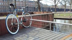 "Raliegh ""classic"" frame from Rotterdam by James Flowerboywonder Bugg #raleigh #fixie #fixedgear #sendusyourbike"
