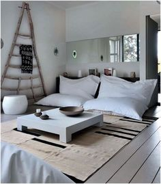 White would never work but these are a great size - big floor pillows