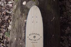 4 handmade cruisers enhancing the textures of wood plus Surf The City logo in the front. City Logo, Surf City, Fall Collections, Surfing, Wood, Design, Woodwind Instrument, Timber Wood, Surf