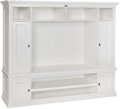 New England Provence TV Cabinet - Anthracite/Bronze