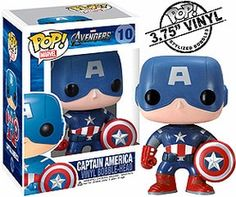 Funko POP! Vinyl Figure - Captain America