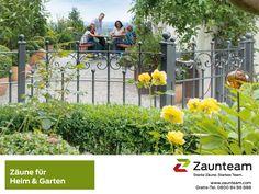 #Zaunteam #Zäune und Tore für Heim und Garten