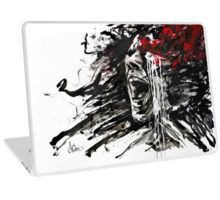 """The Pain of Cluster Headache"" by Agnes-Cecile I Laptop Skin"