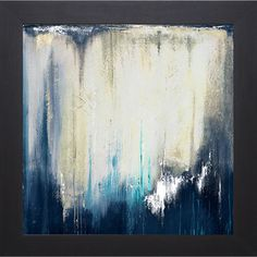 Patricia Pinto 'Blue Illusion II' Framed Art Print | Overstock.com Shopping - Top Rated Prints