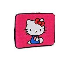 Hello Kitty 16-inch Neoprene Laptop Sleeve Case Pink