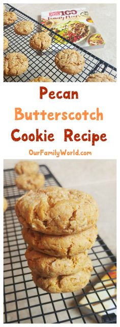 Spend more time in the kitchen with your kids with Taste of Home 100 Family Meals! Check out this pecan butterscotch cookies recipe from page 250! #100FamilyMeals #ad