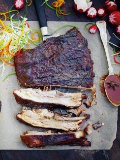 Sticky Chinese ribs