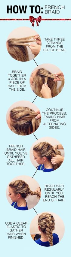How to French Braid Your Hair.