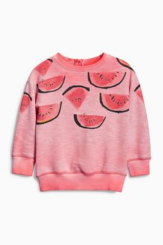Buy Pink Watermelon Crew (3mths-6yrs) from the Next UK online shop