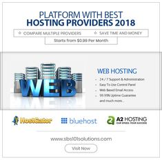 Explore the 10 best web hosting providers, compare your options and choose the right website hosting plan. Cheap web hosting, word press hosting, and more. Business Goals, Best Web, Cheap Web Hosting, Easy To Use, Online Business, Success, Suit, How To Plan, Link