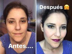 Antes y después de mi maquillaje de hoy. Lo de mi nariz no tiene arreglo . Todos los detalles de los productos usados en mi stories. #makeuplook #fotd #motd #look #eyemakeup #instamakeup #evamcobos #evamcobosbeauty  #evaimnotmua #imnotmua #cosmetics #maquillaje #cosmetica #beauty #belleza #makeuplover #makeupaddict #allaboutmakeup #makeup  #ilovemakeup #makeupbyme #makeupobsessed #makeupart #makeuplove #makeupfanatic #makeuptime #makeuplife