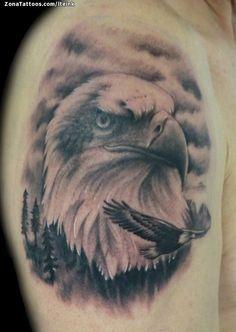Tatuaje hecho por Juan, de Tarragona (España). Si quieres ponerte en contacto con él para un tatuaje o ver más trabajos suyos visita su perfil: http://www.zonatattoos.com/lteink    Si quieres ver más tatuajes de Águilas visita este otro enlace: http://www.zonatattoos.com/tatuaje.php?tatuaje=105450