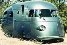 Vacation Hunt 1940s camper