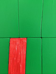(#246) Radical Green, 2014 oil and acrylic on canvas over hand cut panel 33 1/2 x 36 inches Some details... A...