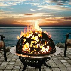Love this fire pit..