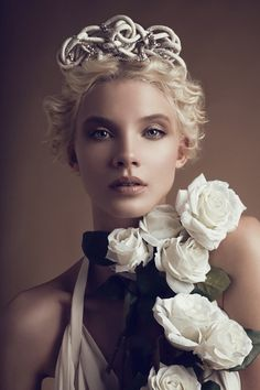 Lara Jade #photography  lighting style #1 Soft In studio- bridal - 1 female model