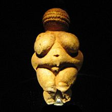 The first known prehistoric art looked alot like this, the Venus of Willendorf. Bulls and Boobs were the first objects of artistic expression.
