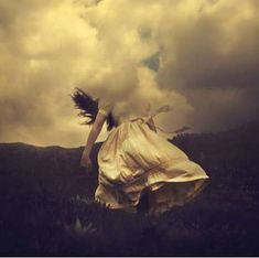 Whimsical Windswept Photography : LA-based photographer Brooke Shaden has been praised endlessly for her collections of hypnotizing images. She is inspired by her imagination and constantly creates scenes bursting with fairytale-esque characters and themes. Brooke makes magic her muse; her subjects are draped in flowing fabrics which are very feminine. Brooke then captures them as the wind blows the fabric around them, creating figures engulfed in twisted tapestries.