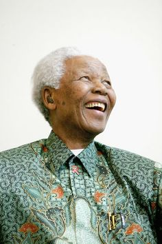 """You know that other people have qualities that may be better than your own. Let them express them."" -Nelson Mandela"