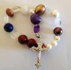 Lutheran Prayer Beads Frälsarkransen 18 bead by kaysoothingbeads, $28.00
