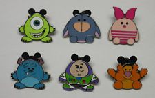 Disney Magical Mystery Pins (Series 7) Set of 6