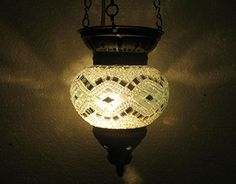 White moroccan lantern mosaic hanging lamp glass chandelier light lampen candle lamp tealight holder lampada turca lampada turco candle holder Mosaiklampe lampe mosaique Türkische lampen hng 60 handmade_antiques http://www.amazon.com/dp/B01EE2OAN2/ref=cm_sw_r_pi_dp_qQ6exb1E9Z3EG