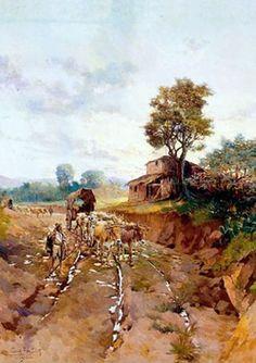 Oscar Pereira da Silva - Estrada do Vergueiro (1904)