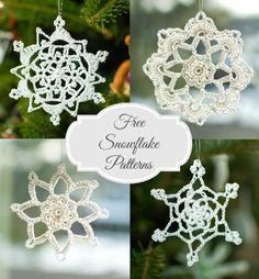 Free Snowflake Crochet Patterns