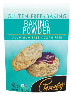 Use Pamela's Baking Powder as a leavening agent to increase the volume and lighten the texture in baked goods. Other baking powders can contain cornstarch and aluminum. Pamela's is corn-free, grain-free and aluminum-free. Baking Tips, Baking Hacks, Cream Of Tarter, Free Gf, White Potatoes, Cooking Ingredients, Gluten Free Baking, Grain Free