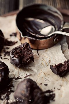 chocolate praline with mascarpone cheese