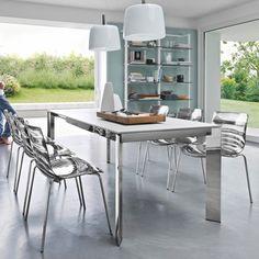 "Calligaris L'eau Chair - 17.75"" seat height"
