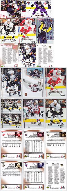 Ice Hockey Cards 216: 2007 2008 Upper Deck Nhl Hockey Complete Mint Basic Series 1 And 2 Set 400 Cards -> BUY IT NOW ONLY: $49.99 on eBay!