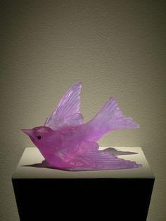 """Lukeke Bird  (Lilac)""     Jacomb/ Rutecki"