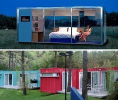 Travelodge Travelpods. Almost Popup: 15 Pre Fab And Shipping Container Hotels