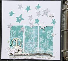 Hallo zusammen,     das Cover von meinem diesjährigen December Daily, das ich mit dem Dezembertagebuch-Kit  von Dani Peuss mache, habe ich ...