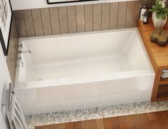 Dimensions of a standard alcove tub